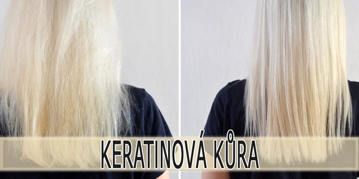 Keratinová kúra na vlasy
