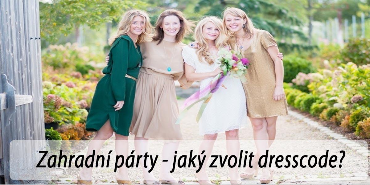 Jaké šaty vybrat na zahradní párty?