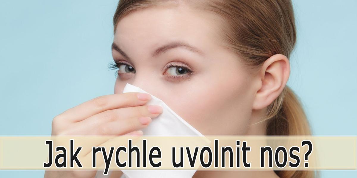 Jak uvolnit ucpaný nos?