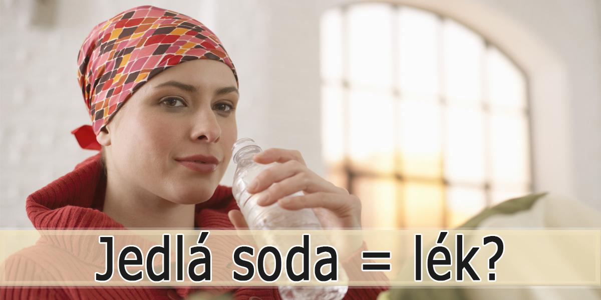 Jedlá soda jako lék