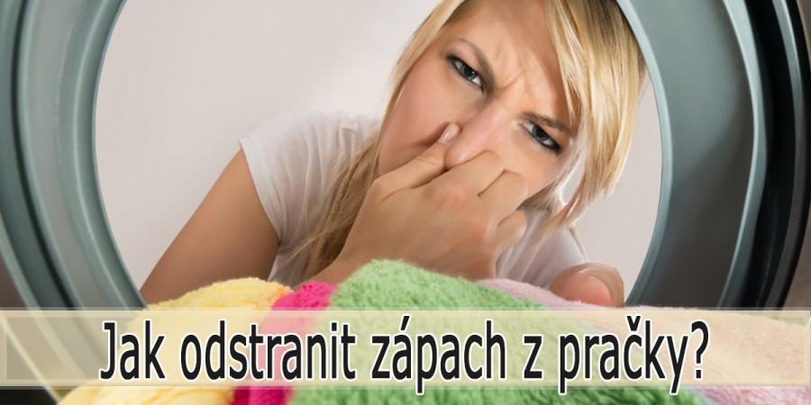 Jak odstranit zápach z pračky?