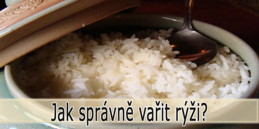 Jak správně vařit rýži?