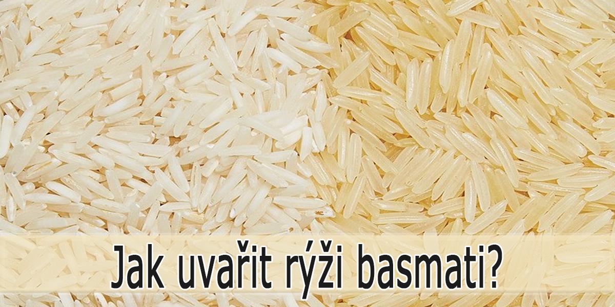 Rýže basmati - Jak se vaří?