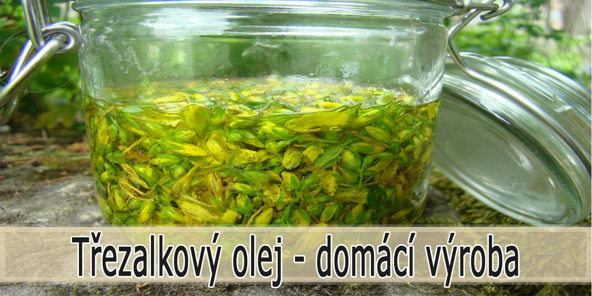 Třezalkový olej - Jak vyrobit doma?