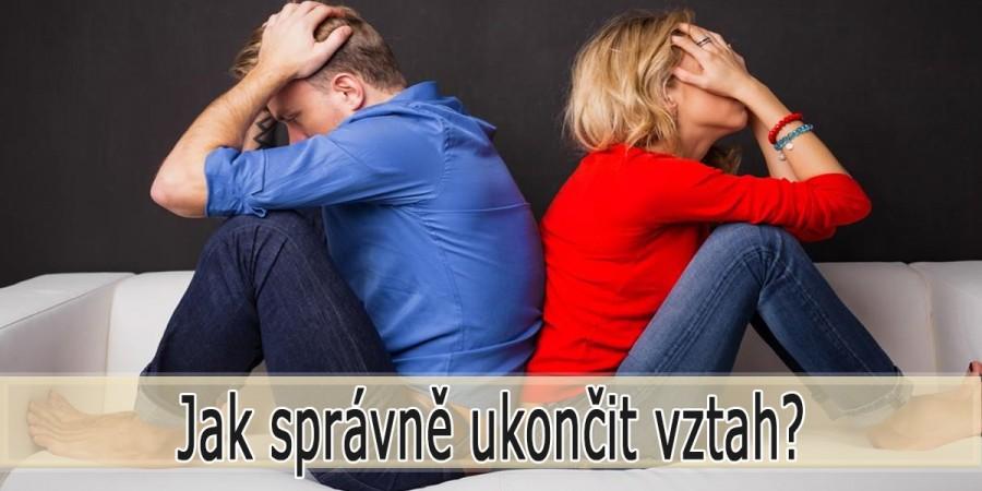 Jak ukončit vztah